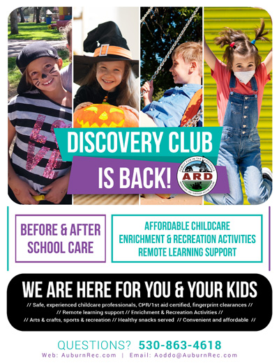Discovery Club is Back